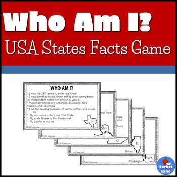 States and Capitals Activities and Games