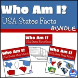 States and Capitals Activities and Games Bundle