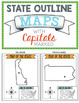 States and Capitals Maps