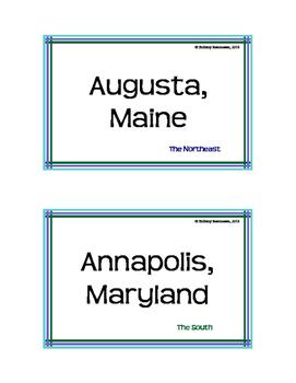 States and Capitals: Around the World