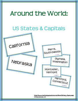 States and Capitals: Around the World