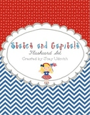States and Capitals Flashcard Set