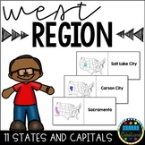 States and Capitals Flashcards West Region