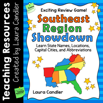 Southeast Region Showdown | States and Capitals Game