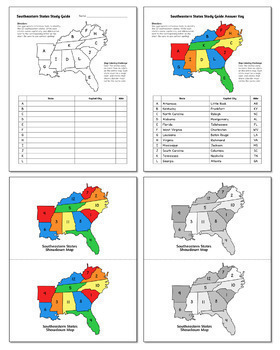 States and Capitals Games Bundle | Learn the 50 States, Region by Region!