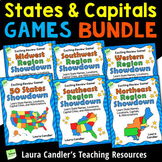 States and Capitals Games Bundle | Learn the 50 States, Re
