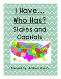States and Capitals Activity