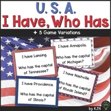 I Have Who Has United States FREE