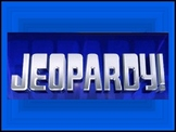 States and Capitals Jeopardy