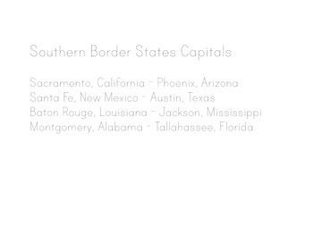 States and Capitals Lyrics, Maps, Printing Practice - Kathy Troxel