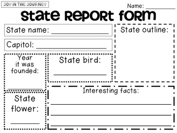 States and Capitals MEGA Packet (CC Aligned)