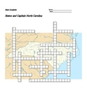 States and Capitals - North Carolina State Symbols Crossword Puzzle