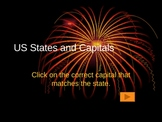 States and Capitals Power Point Free Version