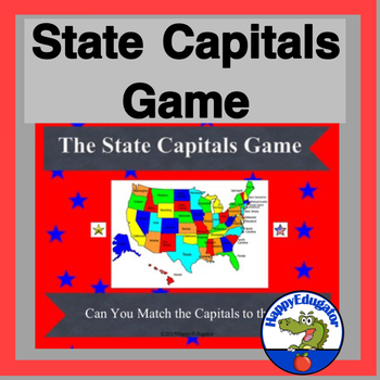 United States - State Capitals Game