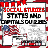 States and Capitals Quizzes
