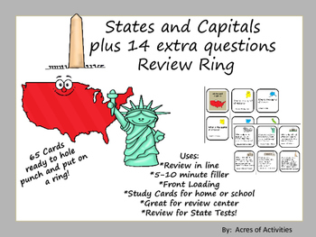 States and Capitals Ring Review