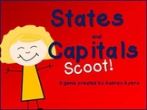 States and Capitals Scoot Game!  - US States and Capitals review