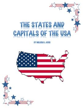 States and Capitals Teacher Guide and Test