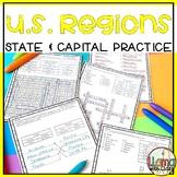 U.S. Regions States and Capitals Bundle