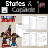 States and Capitals, United States Activity