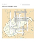States and Capitals - West Virginia State Symbols Crossword Puzzle