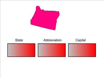 States and Capitals - Western States