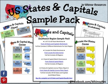 States and Capitals Sample