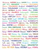 States and Capitals print, Educational print, US Geography, School, Classroom
