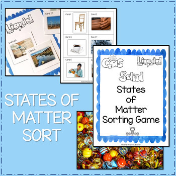 States of Matter Bundle NGSS 2-PS1 2-PS1-1 2-PS1-2 2-PS1-3 2-PS1-4