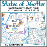 States of Matter Bundle Reading Activities NGSS 2-PS1 2-PS1-1 2-PS1-2 2-PS1-3