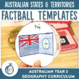 Australian States and Territories Factballs and Fact Sheets