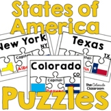United States Geography | States of America Puzzles