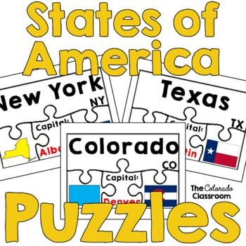 States of America Puzzles