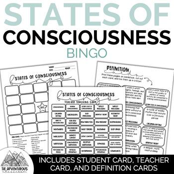 Psychology: States of Consciousness Bingo