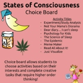 States of Consciousness Tic Tac Toe Project