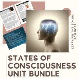 States of Consciousness Unit Bundle: PPT, Projects, Movie