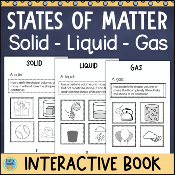 States of Matter Interactive Book Activity