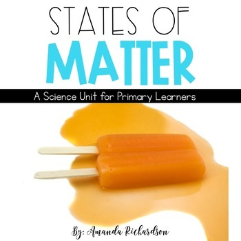 States of Matter: Solid, Liquid, and Gas Activities
