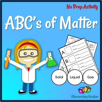 States of Matter Activity