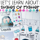States of Matter Activities for Special Education