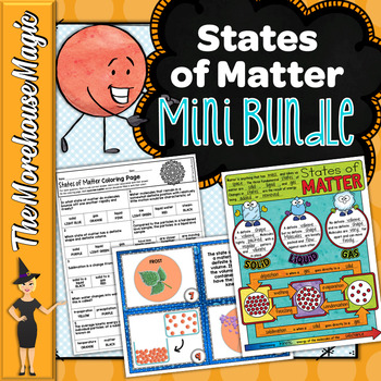 States of Matter Activity Bundle