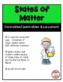 States of Matter - Assessment