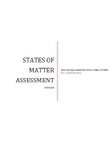 States of Matter Assessment