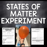States of  Matter Balloon Experiment