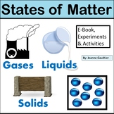States of Matter Unit for Early Primary Distance Learning