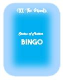 States / Stages of Matter Bingo