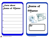 States of Matter Book for Primary Students