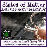 States of Matter Activity using BrainPOP