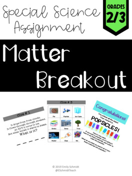 States of Matter Breakout