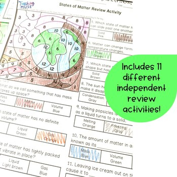 States of Matter Solid, Liquid, Gas Bundle of Nonfiction and Hands on Activities